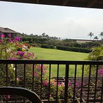 View from lanai - some haze so can't see water as clear in this photo