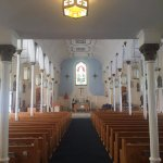 Inside view of the sanctuary