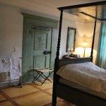 300年前の寝室を再現