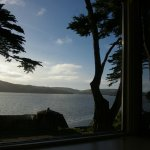 The view of Tomales Bay from South Room