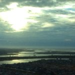 Overlooking Brigantine waterways and thorofares