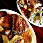 Tuna steak and Chillian Bass