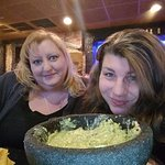 Me and tiff and the guac