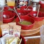 todas las salsas muy recomendables