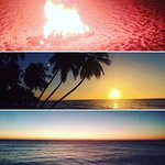 Paynes bay beach very nice sunset from Jerry