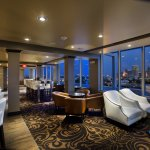 O Bar boasts one of the best views of the Oklahoma City skyline.