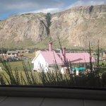vista desde la ventana de la cocina