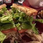 sandwich at Side Saddle Cafe