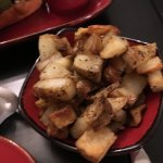 potatoes at Side Saddle Cafe