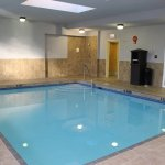 Heated Indoor Pool-open from 6:30 am-10:00 pm daily!