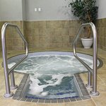 Indoor Hot Tub-open from 6:30 am-10:00 pm daily!