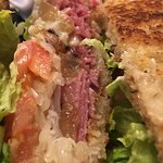 sandwich at Side Saddle Cafe