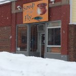 Soup in the Snow; the Common, blackened, with fried oysters; Fat Tuesday event with Cajun/Creole