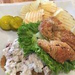 Chicken Salad sandwich on a Croissant, AKT Nourish, Haymarket VA