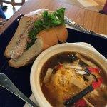 Soup and Sandwich Combo at AKT Nourish, Haymarket VA