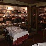 Wine cellar at La Campania
