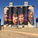 Sheep Hills Silo Art