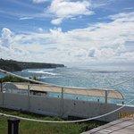 The view towards Illuwatu, Bali