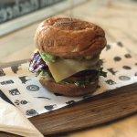 Gluten free grande beef burger