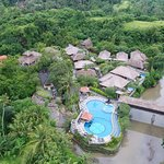 Sky photo of Santi Mandala Villa Ubud