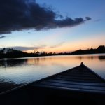 The sunsets were stunning -- every night! My favorite moments were late day and evening canoe tr