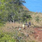 Na Pali Hikers From Kalalau