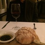 Great bread with olive oil
