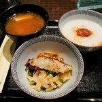 Japanese style breakfast.