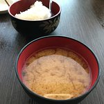 Miso and rice