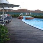 Pool and Gym Area