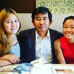 Farewell lunch with Kazu-san in Tokyo