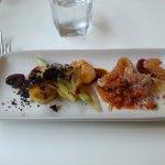 Fennel, squid, prawn and chorizo