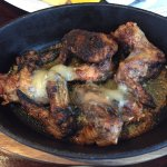 Chicken wings with blue cheese sauce - they did refund this, but should have never left the kitc