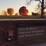 Autumn colours at Fort McHenry