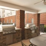 Courtyard Grilling Stations