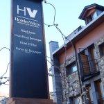 Hall de entrada al hotel Aneto