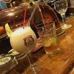 un petit verre bien sympa au bar