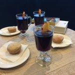 Mulled wines and mince pies