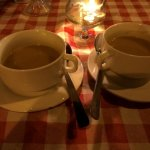 Soup of the day: pumpkin soup