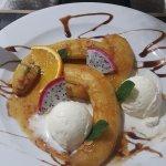 Dessert Bananes Flambées