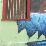 Wall art in Valparaiso