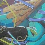 Elaborate wall art