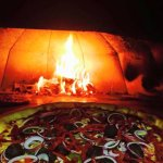 Pizza Special in our Wood Burning Pizza Oven