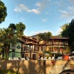 Porto Pacuíba visto da rua.