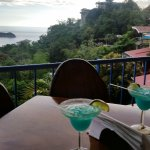 View of fabulous Margaritas and location
