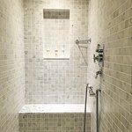 I loved the shower - this is one end of it - there is another shower fitting where I am standing