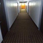Dark, dingy hallway