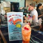 Frozen rum punch - Yum!
