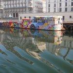 Péniche sur la Saône