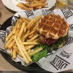 Chicken Waffle Club Sandwich
